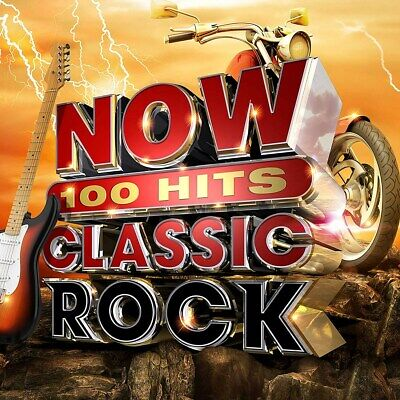 Now 100 Hits: Classic Rock - Various Artists (Box Set) [CD]