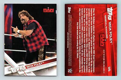 Mick Foley #25 WWE 2017 Topps Trading Card