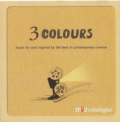 3 Colours-Zbigniew Preisner-Some Tracks From The Three Colours Trilogy-CD-Promo