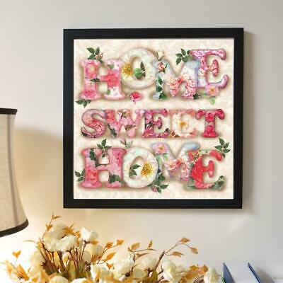 5D DIY Full Drill Diamond Painting Sweet Home Cross Stitch Embroidery Kits Decor