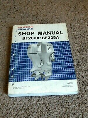 ON SALE HONDA Outboard Service Manual Vol 7: 175hp+200hp+225hp FREE