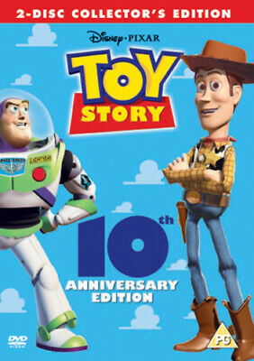 Toy Story DVD (2005) John Lasseter cert PG 2 discs Expertly Refurbished Product