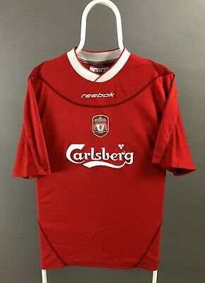 competitive price 3b01c 4b3e3 LIVERPOOL JERSEY 38/40 2002 2004 long sleeve home shirt ...