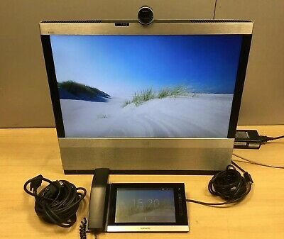Cisco EX90 CTS-EX90-K9 TelePresence System Video Conferencing Monitor + Adapter