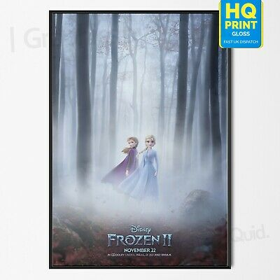 Frozen 2 2019 Movie Film Print Disney Animated Art Poster | A4 A3 A2 A1 |