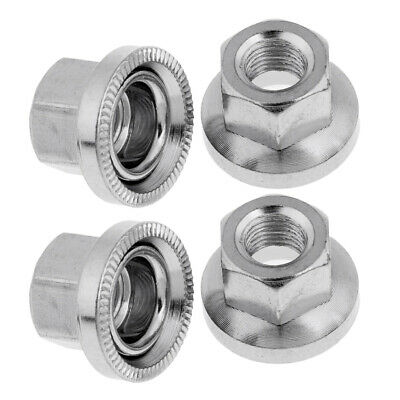 2 x Bicycle Rear Wheel Axle 1//4 Inch x 7 Ball Bearing Cages Pair MHV Bike BB