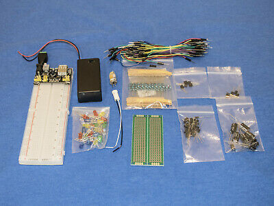 MB102 Solderless Breadboard Protoboard 830 Tie Point Test Circuit PCB Kit