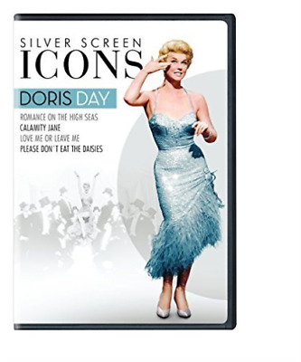 Silver Screen Icons: Doris ...-Silver Screen Icons: Doris Day (4Pc) / (B Dvd New