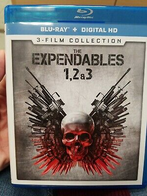 The Expendables: 1 2 & 3 Film Collection (Blu-ray + Digital HD 2017 3-Disc Set)