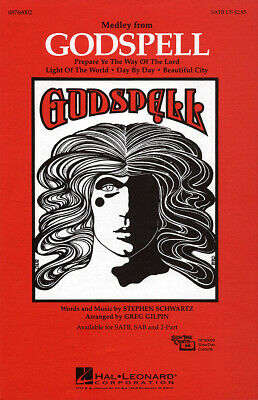 Stephen Schwartz-Godspell (Medley)-SATB and Piano-Vocal Score