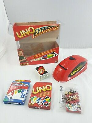 Uno Extreme Card Game & Cards Bundle Phase 10