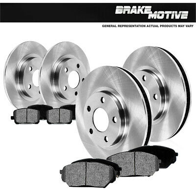 Front /& Rear Rotors Ceramic Pads 1999 2000 2001 2002 2003 2004 Ford Mustang
