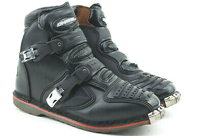 RK-2 SHORT LEATHER CRUISER ANKLE MOTORBIKE MOTORCYCLE ANKLE BOOTS LADIES /& MEN