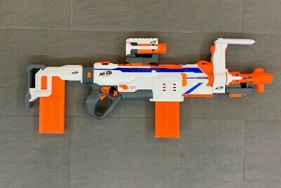 Hasbro Nerf N-Strike Modulus Regulator - Weiß/Orange (C1294EU4)