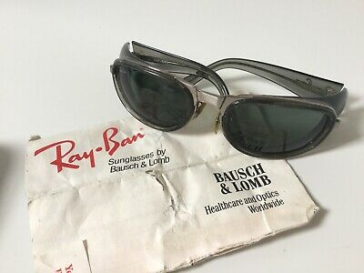 Genuine Vintage Mens Ray-Ban Sunglasses with Case. Excellent Condition