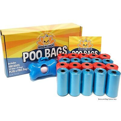 NEW Poo Bags | 480 Pooper Scooper Bags for Poop and Pet Dog Waste | Bag Holder