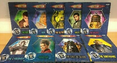 DOCTOR WHO / DR WHO FILES: collection of 9 children's books