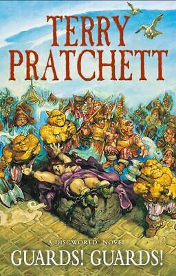 A Discworld novel: Guards! Guards! by Terry Pratchett (Paperback) Amazing Value