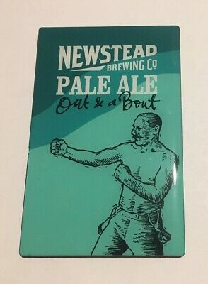Newstead Brewing Out And A Bout Pale Ale Beer Badge Decal Brand New Unused
