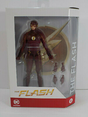 New Sealed Dc Collectibles The Flash Tv Series Season 3 Flash Action Figure