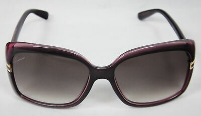 NEW Authentic GUCCI Sunglasses Pink OR4JS 58-16-135 CRMR Safilo Group GG 3188/S