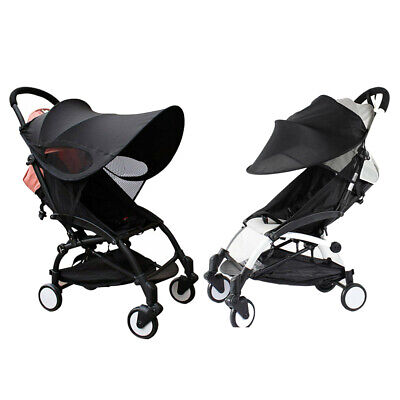 Upgraded version of Baby Stroller Sun Visor Carriage Sun Shade Canopy Cover X3N6