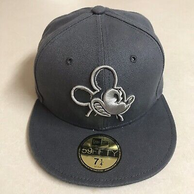 7115de45 New Era X Disney Les Schettkoe 59Fifty Double 5 Mickey Mouse Fitted Cap 7 1/