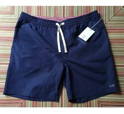 e6bff76aefe9f Vineyard Vines Target Mens Swim Trunks Shorts Bathing Suit Navy Blue XXL