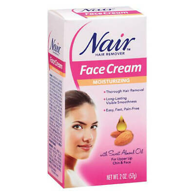 Nair Moisturizing Face Cream Hair Remover - Choose Pack Size