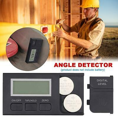 Digital Inclinometer Electronic Protractor Bevel Box Angle Gauge Meter Ruler US
