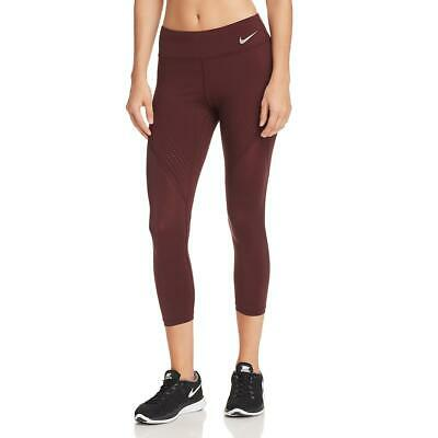 497b0a00bf79c Nike Womens Purple Yoga Fitness Running Athletic Leggings Athletic S BHFO  6775