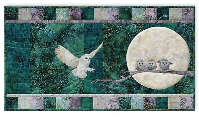 Hunter's Moon pattern from Moon Shadow quilt by Mckenna Ryan