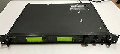 Shure UR4D J5 Dual Wireless Mic Receiver 578-638 MHz for J5 Microphone