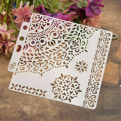 DIY Layering Embossing Stencil Template For Wall Painting Scrapbooking Decor