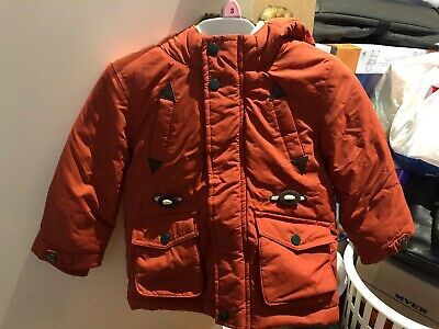 MARKS AND SPENCER BABY BOY JACKET COAT SIZE 18-24 Months AS NEW