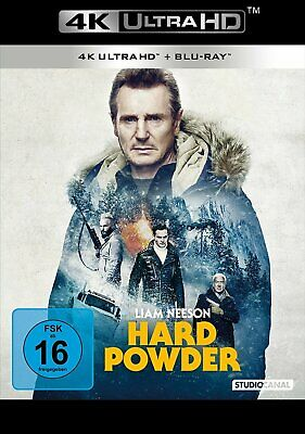 Hard Powder - 4K Ultra HD Blu-ray (Liam Neeson) # UHD+BLU-RAY-NEU
