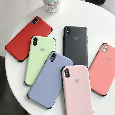 Ultra Thin Soft Silicone Shockproof Case Cover For iPhone XS Max XR X 8 7 6Plus