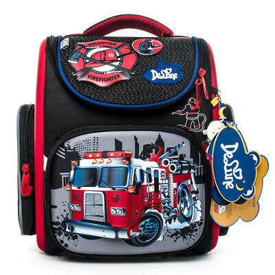 DELUNE Children Kids Boys Girls Backpack Schoolbag Shoulder Bag School Rucksack