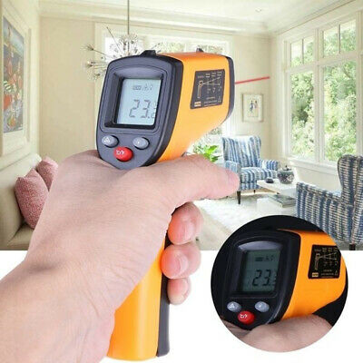 Handheld Non-Contact IR Laser Infrared LCD Digital Temperature Thermometer