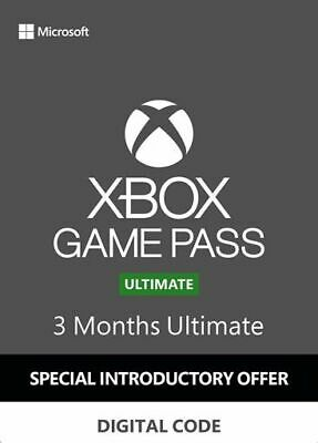 Xbox Game Pass Ultimate -  3 Monate - Xbox One