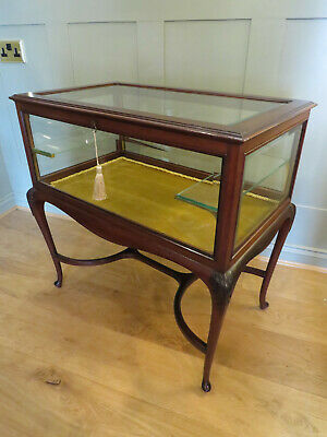 Edwardian Mahogany Bijouterie Display Table