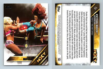 Peyton Royce #10 WWE Then Now Forever 2016 Topps NXT Prospects Card