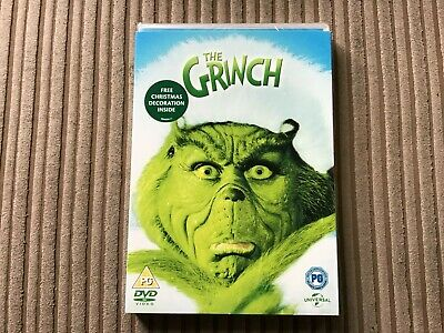 New & Sealed The Grinch Dvd Jim Carrey 2000