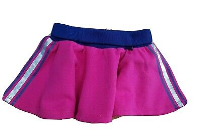 DIESEL Baby Girl pink jersey Skater Party Skirt size 6 months NWT stripe