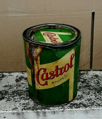boite de graisse CASTROL spheerol S   Öl dose oil can tin collection bidon huile