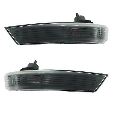 Ford Focus Mk2, Mk3, Mondeo Gen 4 2008- Black/Clear Side Repeaters