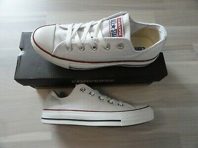 Converse All star Canvas Ox Optical White,Schuhe,Sneaker Unisex.Gr.36,5NEU!K252