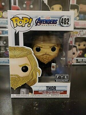 Funko Pop! Marvel Avengers Endgame Thor #482 FYE Exclusive WITH PROTECTOR!