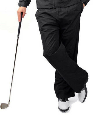 Ram Men's Waterproof Golf Trousers With Zip Flair 100% Microfibre