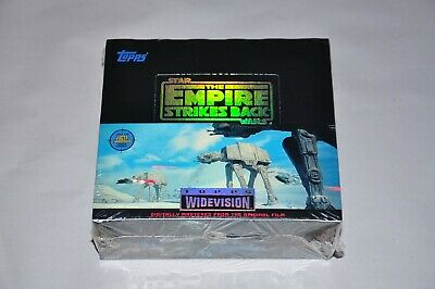 Star Wars The Empire Strikes Back Topps 1995 Trading Cards Factory Sealed Box